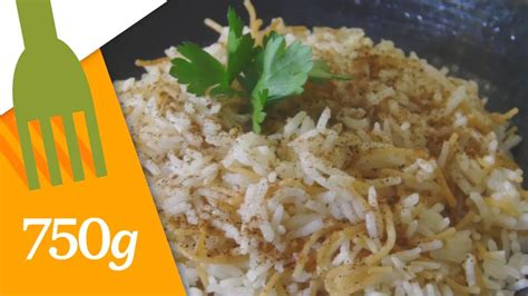 http 750g com fiche de cuisine recette de riz libanais aux vermicelles 750 grammes