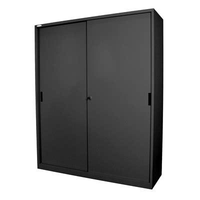 Sliding Cupboard Shelves by Steelco Steel Sliding Door Cupboard 1830x1500 3 Shelf