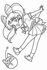 Sailor Moon Coloring Chibi Adult Printable sketch template