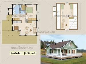 Prix Kit Maison Bois : plan gratuit de chalet en bois en kit et plan de maison bois ~ Premium-room.com Idées de Décoration