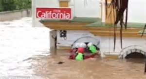 Basement Flooding After Heavy Rain by Costa Del Sol Resorts Flooded As Spain Suffers Heavy