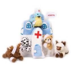 stuffed animal hospital plush animal hospital house with animals five 5