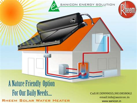 Hybrid Water Heater Diagram by Rheem Solar Water Heater A Nature Friendly Option For Our