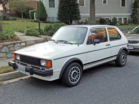 old volkswagen rabbit curbside classic 1983 volkswagen rabbit gti when fun