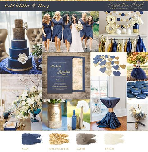 Classic Kitchen Ideas - navy blue and gold wedding ideas and inspiration wedding invitations soumya 39 s invitations