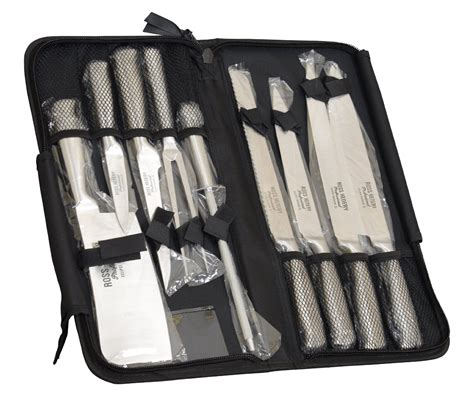 knife professional chefs chef case knives kitchen piece carry henery ross eclipse premium amazon steel stainless solingen cases sets hoffman