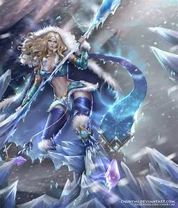 Commission - Crystal Maiden by ChubyMi on DeviantArt