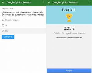 Google Opinion Rewards: Genera saldo de Google Play con ...