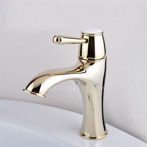 luxury bathroom sink faucets luxury antique gold radian designed bathroom sink faucet