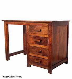 Olida Mango Wood Study Table by Mudra Online - Study