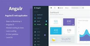 20 angularjs admin templates for download templateflip With angular layout template