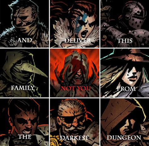 Darkest Dungeon Memes - overconfidence is slow and insidious killer when occultist heal you to full hp without bleed