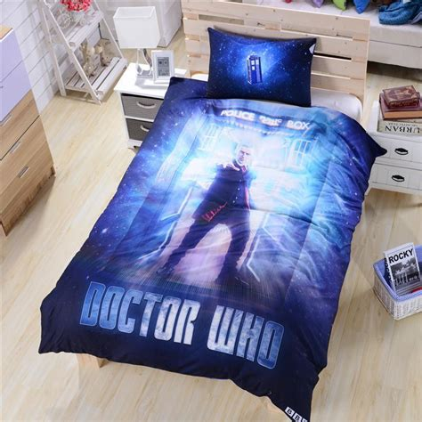 doctor who 3d bedding set kids bedding usa aus uk suitable