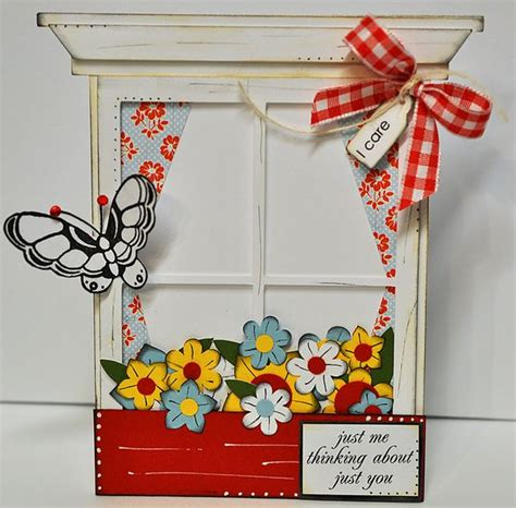 cutting cafe window sill shaped card settemplate