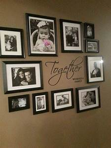 Cadre Déco family wall collage Pinterest Photo wall