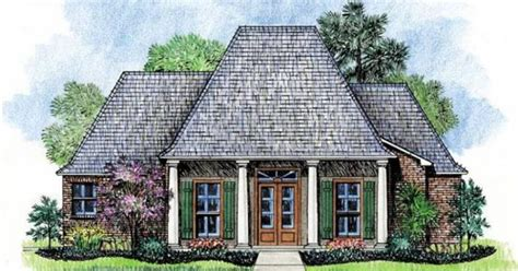 creole house plans  porches french acadian homes