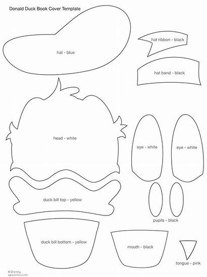 Duck Template Donald Printable Mickey Mouse Hat