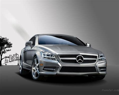 Mercedes Cls Class Backgrounds by Mercedes Cls Class Coupe 2012 Wallpaper Desktop Background
