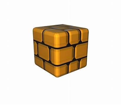 Block Brick Resource Mario Super 3d Models