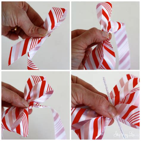 how to tie a bow with ribbon make a bow martha stewart avery coupon skip to my lou