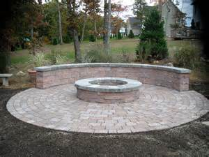 Patio with Fire Pit Design Ideas