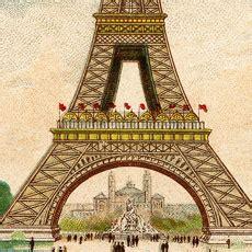 fantastic colorful vintage eiffel tower image