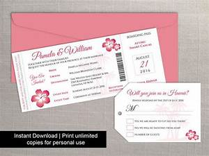 diy printable wedding boarding pass luggage tag template With boarding pass wedding invitations with rsvp template