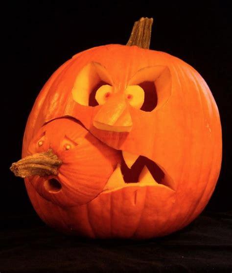 Spongebob Pumpkin Carving Kit by Diy Funny Carved Pumpkins And Jack O Lanterns Snappy Pixels