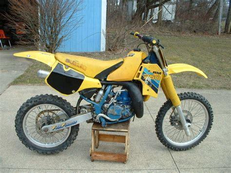Suzuki Rm Parts by 1987 Suzuki Rm 250 Vintage Motocross Motorcycle Dirt Bike