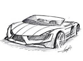 How to Draw Super Cars