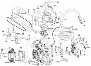 Craftsman 18 40cc Chainsaw Fuel Line Diagram