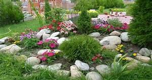 Rocalla en el jardín cincuenta ideas decorativas geniales