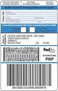 Package return services return shipping labels fedex for How to send a shipping label