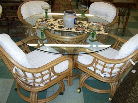 rattan patio furniture your model home