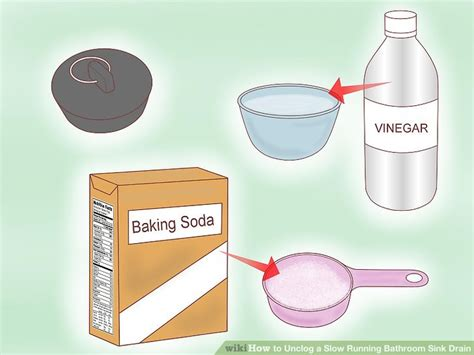 how do you unclog a kitchen sink with 4 ways to unclog a running bathroom sink drain wikihow