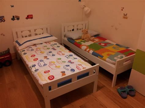 Ikea Kritter Bed by Ikea Kritter Beds White With Safety Rails For Sale In