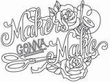 Coloring Pages Embroidery Sewing Machine Wicked Quote Adult Quotes Urban Designs Threads Stitchery Thread Gonna Makers Urbanthreads Hand Knitting Discover sketch template