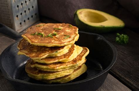 avocado pancakes recipe goodtoknow