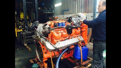 Motor Marino Dsi 14 74 V8 Scania 550 Hp