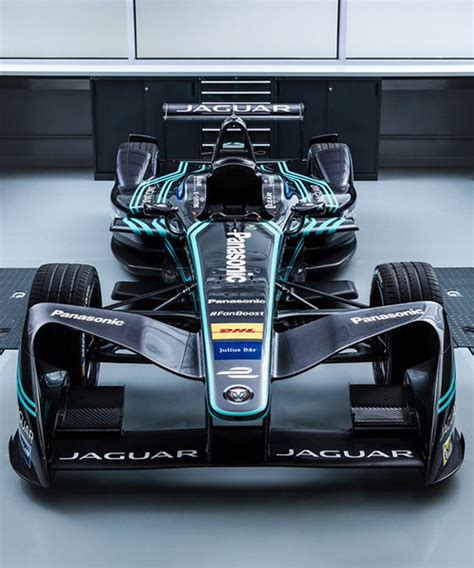 Jaguar Returns To Motorsports With All-electric I-type
