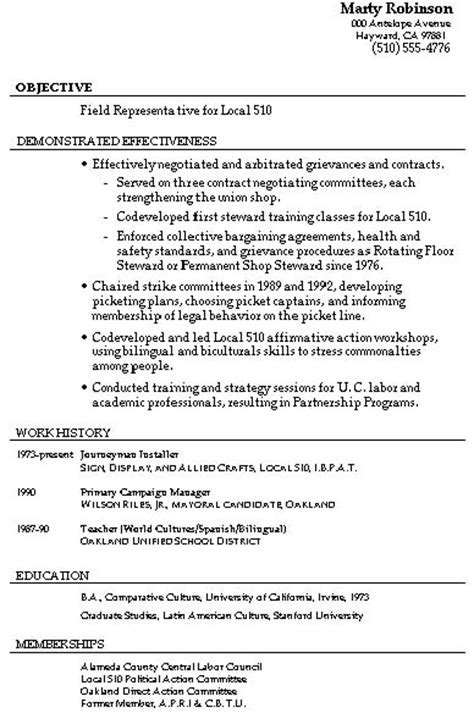 resume sles mixed bag damn resume guide