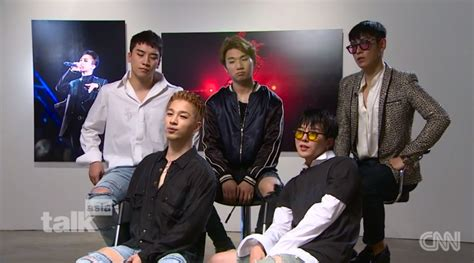 "Bigbang's Interview With Cnn ""we're Happiest When The 5"