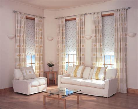 gardinen wohnzimmer eine art dekoration oder