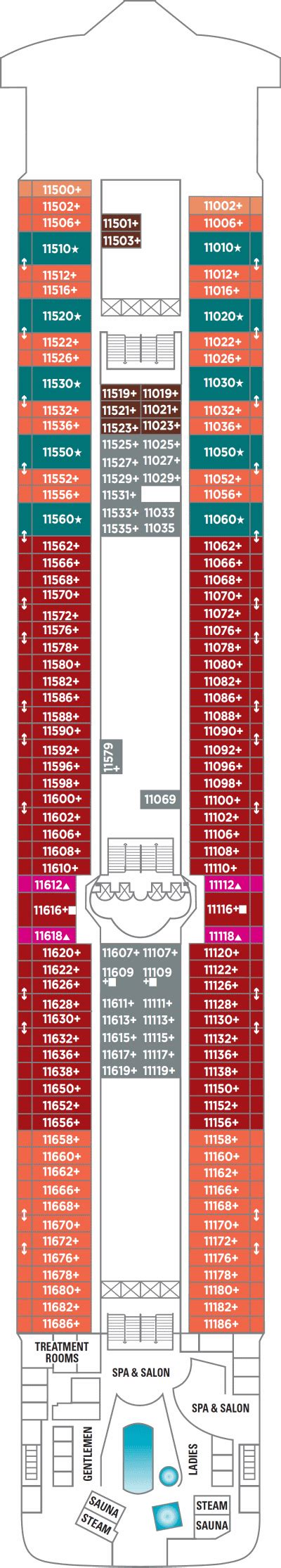 Ncl Deck Plans 11 cruises cruise cruises with