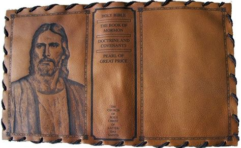 hand crafted custom leather scripture cover  picture