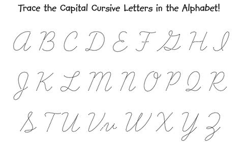 cursive capital letters activities the children s workshop 25325