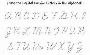 Capital I In Cursive | New Calendar Template Site