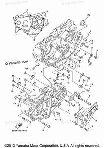 Yamaha Atv 2008 Oem Parts Diagram For Crankcase