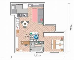 20 Qm Wohnung Einrichten : einrichtungsideen wie man eine kleine wohnung breiter ~ Lizthompson.info Haus und Dekorationen