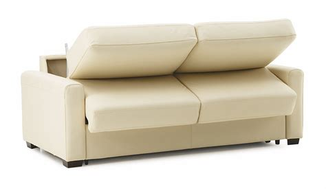 Maximizing Small Spaces Using White Leather Twin Size